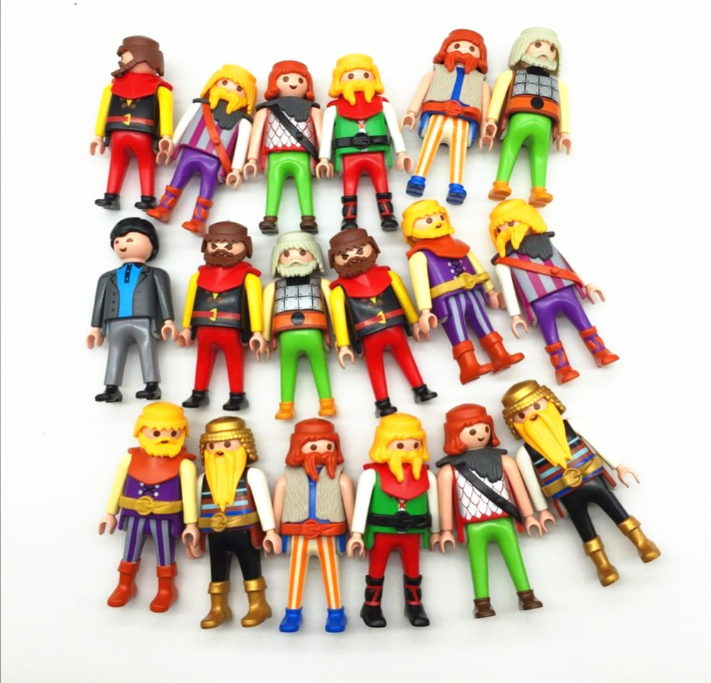 1 Pieces 7.5cm Germany Genuine Randomly Sent Playmobil Dolls Action Toys Figures Classical Collection Toys For Children