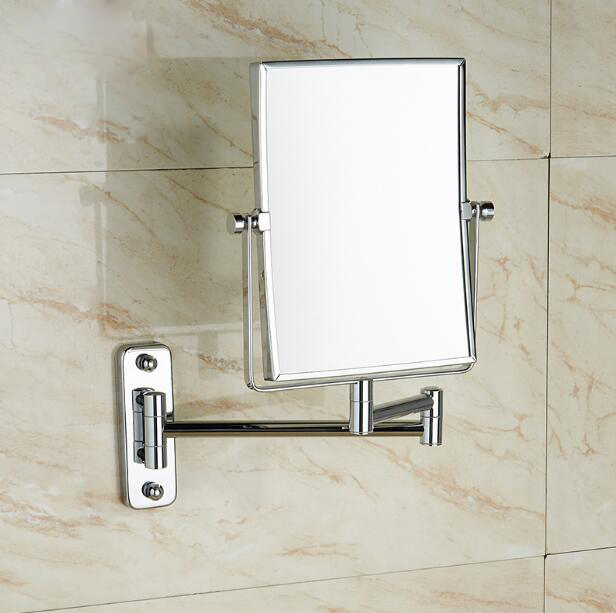 Bathroom Mirror 8 Dual Makeup 1 And 3 Magnifier Square Copper Cosmetic Double Faced Bath Elf10 In Mirrors From Home