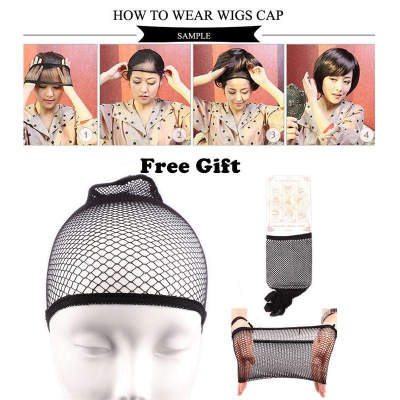 wig cap free gift
