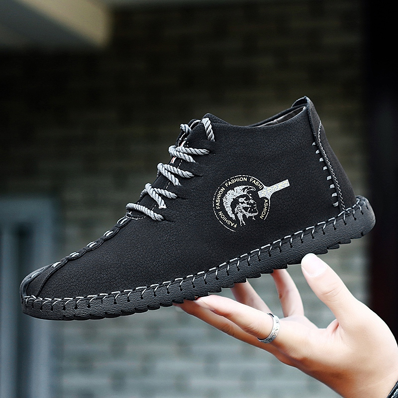 Shoes 2018 New Spring Fashion Retro Leisure Black Shoes Men Classic Moccasin Shoe Silp On Soft Youth Male Casual Driving ShoeShoes 2018 New Spring Fashion Retro Leisure Black Shoes Men Classic Moccasin Shoe Silp On Soft Youth Male Casual Driving Shoe