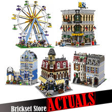 LELE Toy Creators Architecture City Building Blocks Bricks Kids Toys For Children Gifts Compatible 10247 10211 10182 10190 10218