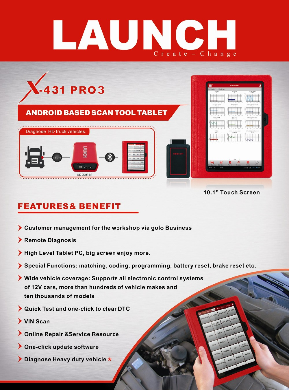 LAUNCH X431 PRO3 Full set (2)