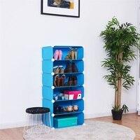 6 Cubic Portable Shoe Rack Shoe Organizer Shoe Storage Furniture HW54797