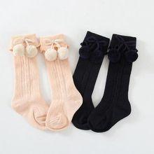 High Quality Fashion Korean Style Baby Socks Warm New Year Christmas Socks Leg Warmers Knee High