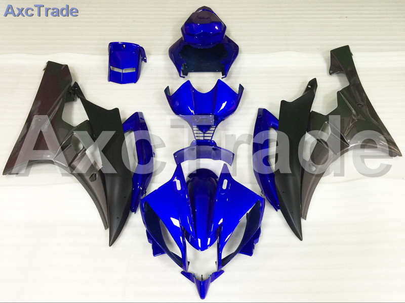Motorcycle Fairings Kits For Yamaha YZF600 YZF 600 R6 YZF-R6 2006 2007 06 07 ABS Injection Fairing Bodywork Kit Blue Black A885 hot sales yzf600 r6 08 14 set for yamaha r6 fairing kit 2008 2014 red and white bodywork fairings injection molding