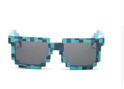 1pcs Fashion Minecraft Sunglasses Kids Cos Play Action Game Toys