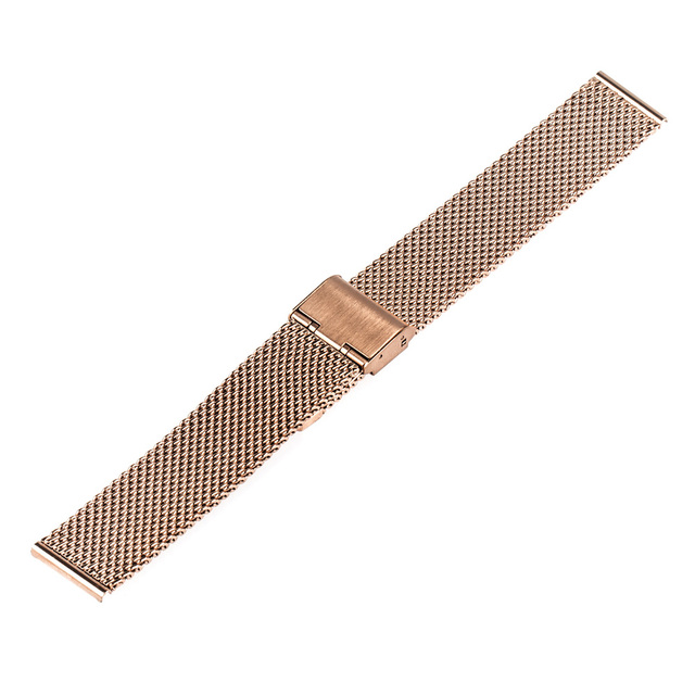 Milanese Watchband 18mm 20mm 22mm for Omega Men Women Watch Band Stainless Steel Strap Replacement Belt Bracelet + Tool + Pin