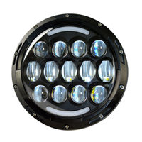 CZG778 1PC 7 Inch 78w Led Headlamp 7 Round Led Headlight With High Low Beam DRL
