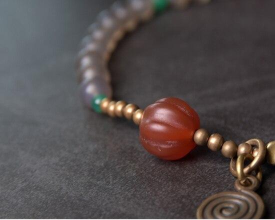 Red-Pumpkin-Agate-Mixed-Buddha-Eyes-Bead-bracelet-Tibetan-Buddhism-Zen-Healing-brass-beads-White-Grey-Agate-Friendship-Jewelry (11)