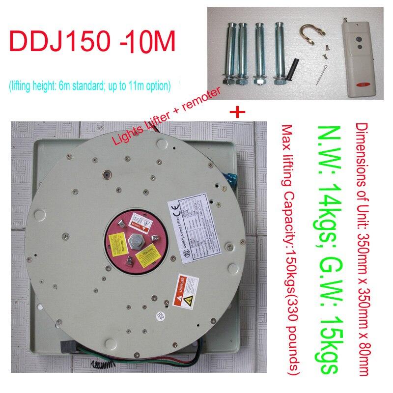 150KG 10M Electric Winch for Chandelier Lighting Lifter Hoist Lamp Motor Light Lifting System,110V,120V,220V,230V,240V