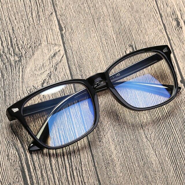 Moda Óculos Mulheres Homens óculos de Computador Anti Radiação de Luz Azul  Pontos para o Trabalho 0ce749ba4a