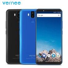 Orignal Vernee X Mobile Phone 6.0 inch Screen 4GB RAM 64GB ROM MTK6763 Octa Core Android 7.1 Four Cameras 6200mAh Smartphone