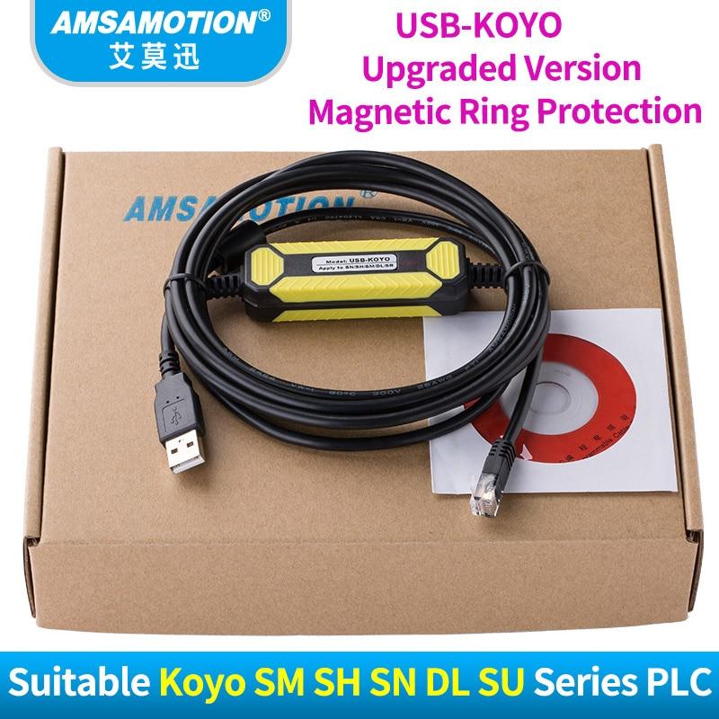 Upgrade Cable USB-KOYO Suitable KOYO SM SH SN DL SU Series PLC Programming Cable