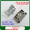 Motorcycle Dirt Pit Bike Monkey Bike 50cc 70cc 90cc 110cc 125cc 140cc Oil Cooler Adapter Engine Cylinder Cover