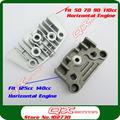 Motorcycle Dirt Pit Bike Monkey Bike 50cc 70cc 90cc 110cc 125cc 140cc Oil Cooler Adapter Engine Cylinder Cover