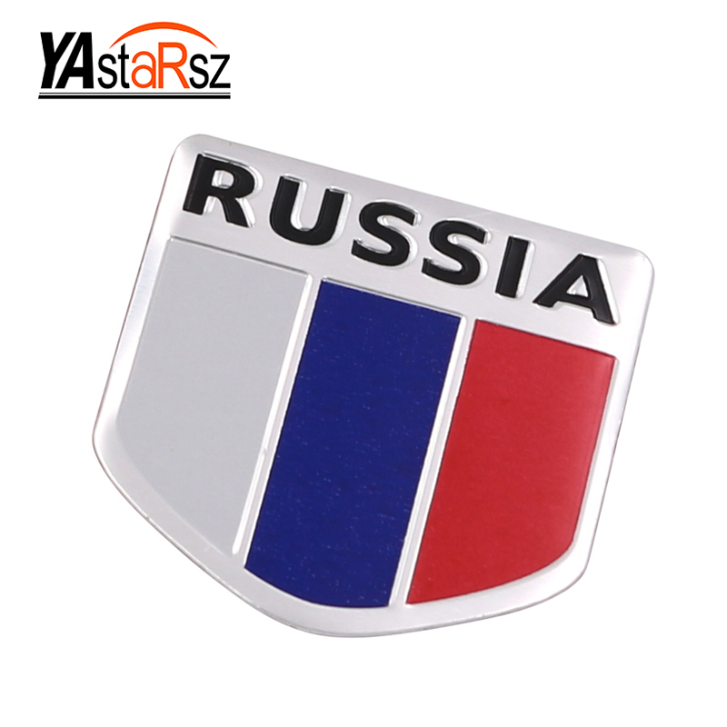 Russia Flag Car Sticker And Decals Japan For Motorcycle Bike 3D Stickers On Cars Styling Body Auto Accessories Car-Styling Man 16 strips motorcycle accessories 7 colors car styling decals 17 or 18 inch car stickers wheel rim sticker reflective tape
