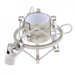 Image 2 - BM 8000 студии звукозаписи Запись конденсаторный микрофон с 3,5 мм разъем стенд держатель и позолоченный большой диафрагмой головка