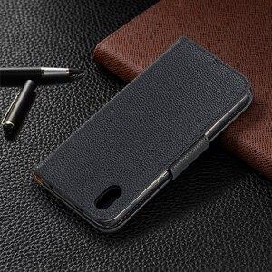 Image 3 - Portfel telefon obudowa do Xiaomi Redmi Note 8 Pro uwaga 7 7A K20 Pro 6A 6 Pro etui z klapką ze skóry Magetic posiadacz karty stań pokrywy