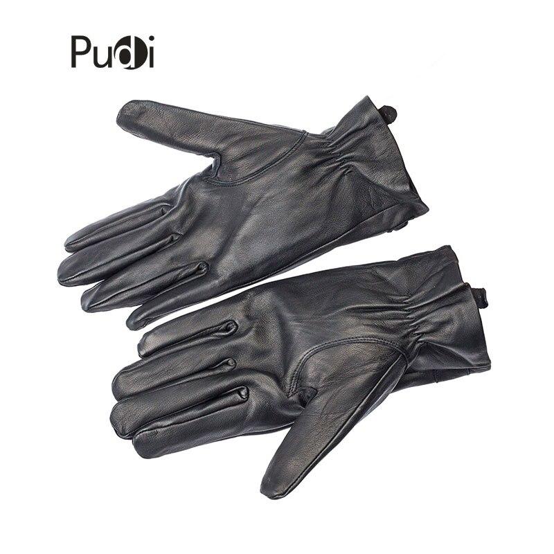 GL7015 pria kulit asli sarung tangan merek gaya baru Rusia musim - Aksesori pakaian - Foto 3