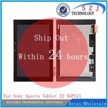 Новый 10,1 »дюймовый для sony планшет Xperia Z2 SGP511 SGP512 SGP521 SGP541 ЖК-дисплей дисплей с сенсорным экраном сборки Бесплатная доставка