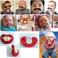 Funny Pacifiers Silicone Baby Pacifier Nipple Dummy Baby Soother Joke Prank  Nipples Teether Pacifier Clips Chupetes Para Bebes