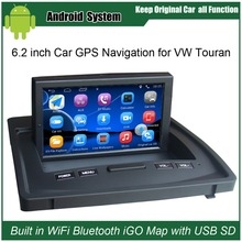 ФОТО upgraded original android car radio player suit to volkswagen vw touran car video player built in wifi gps bluetooth