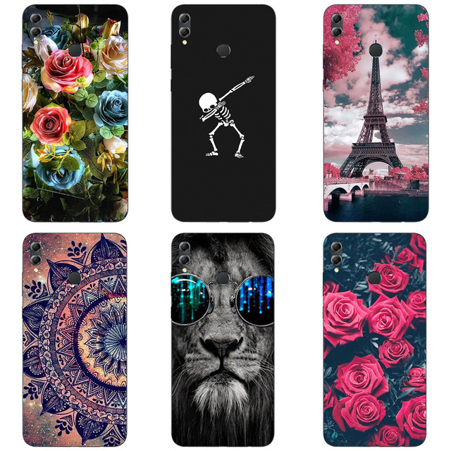 US $1 42 |Aliexpress com : Buy For Huawei Honor 8X Max Cases Cover 7 12  inch Printed Patterned Soft Silicon Protective Back Cover For Huawei Honor  8X