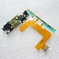 Usted kit original nuevo power on/off volumen botón de cámara principal flex cable con micrófono vibrador para sony xperia zr m36h