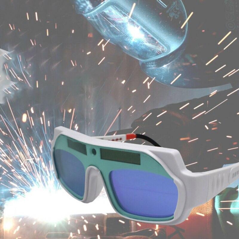 Gafas LCD con energía solar de oscurecimiento automático de protección
