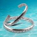 2014 retro 925 sterling silver new bracelet, fashion old vintage magic pattern sterling silver lover's & couple bracelet