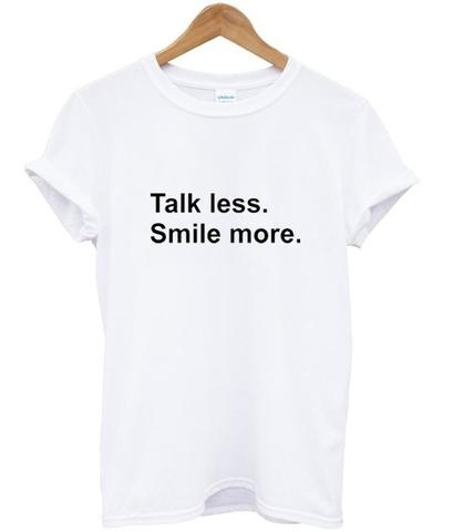 sunfiz YF Talk Less Smile More Hamilton Shirt, Musical, Alexander Broadway Gifts Quote Shirt image