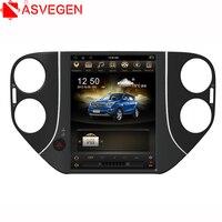 Asvegen 10.4'' 2G RamTesla Screen Android 6.0 WIFI Car Radio DVD Player Bluetooth GPS Multimedia For Volkswagen Tiguan 2010 2015