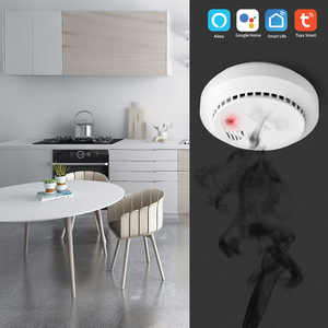 Image 3 - Lonsonho Tuya Smartlife WiFi เครื่องตรวจจับก๊าซคาร์บอนมอนอกไซด์ CO SMOKE SENSOR สมาร์ทระบบรักษาความปลอดภัย Smart Home Automation