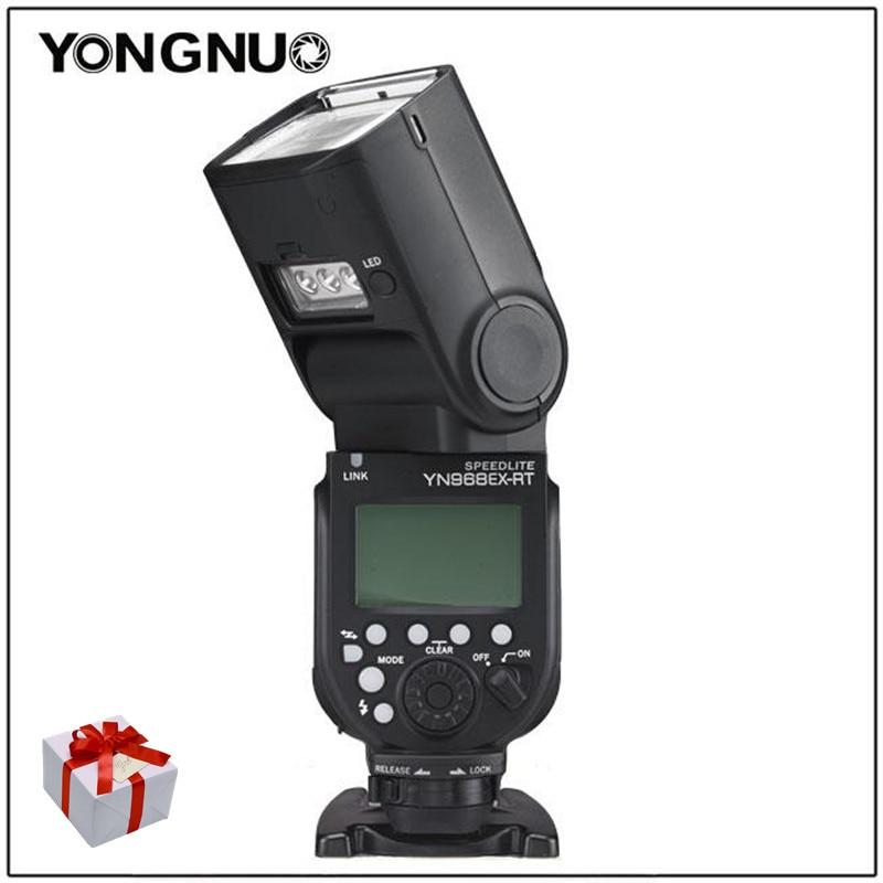 YONGNUO YN968N YN968EX-RT HSS TTL Wireless Camera Flash Speedlite Master Optical Slave For Nikon D5600 D7100 For Canon D1000D700 new yongnuo yn968ex rt ttl wireless flash speedlite with led light support yn e3 rt yn600ex rt for canon 600ex rt st e3 rt