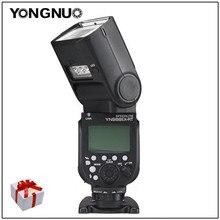 YONGNUO yn968n yn968ex-rt HSS TTL Беспроводной Камера Вспышка Speedlite мастер оптический slave для Nikon d5600 D7100 для Canon d1000d700