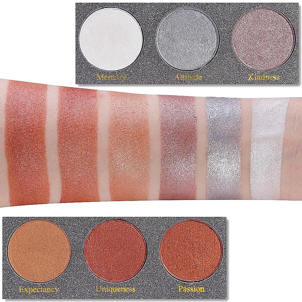 DE'LANCI Wet Cream Highlighter Bronzer Glow Kit Face Makeup - Makeup - Foto 5
