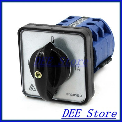Rotary Cam Control 4 Selector Position Combination Switch 12 Terminals ui 660v ith 125a 12 terminals rotary cam universal combination switch