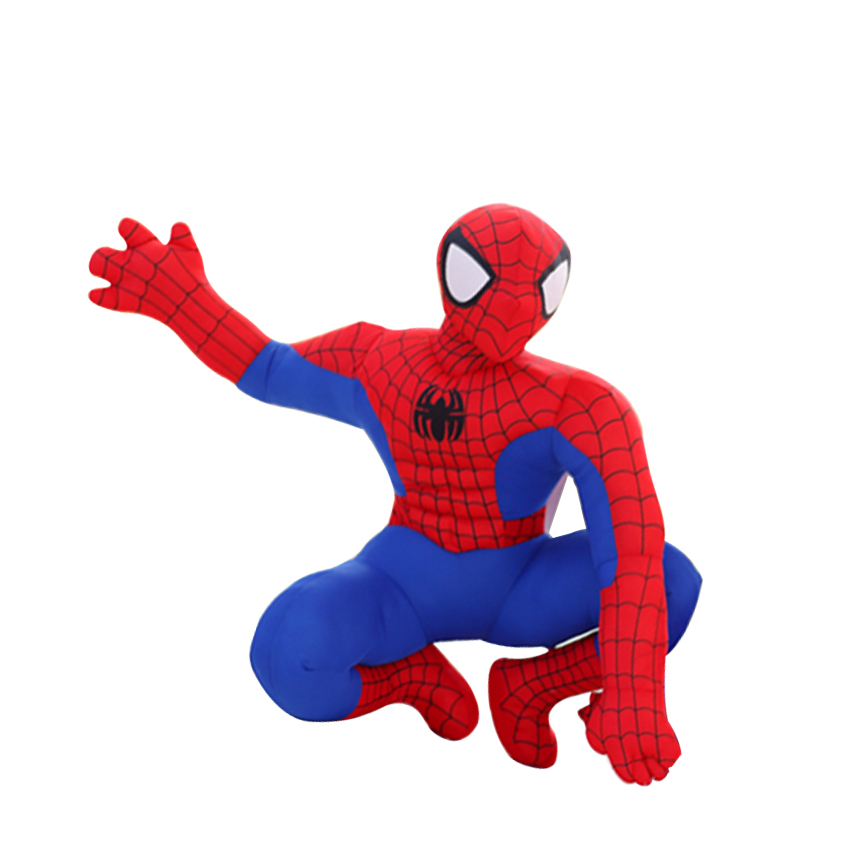 2 Styles 30cm Spiderman Plush Toys Action Figure Collectible Model Toys Cartoon Spider-man Plush Doll for Boys Kids Doll 1 6 figure doll afghanistan civilian fighter asad the soviet afghan war 1980 12 collectible figure doll plastic model toys