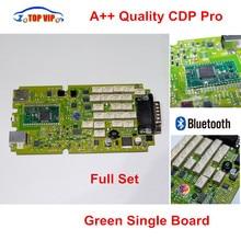 A + + Qualität Grün Single Board CDP PRO Niedrigen Preis TCS CDP bluetooth 2014R2/2015R3/2015,1 Software Neue VCI TCS CDP Pro Scanner