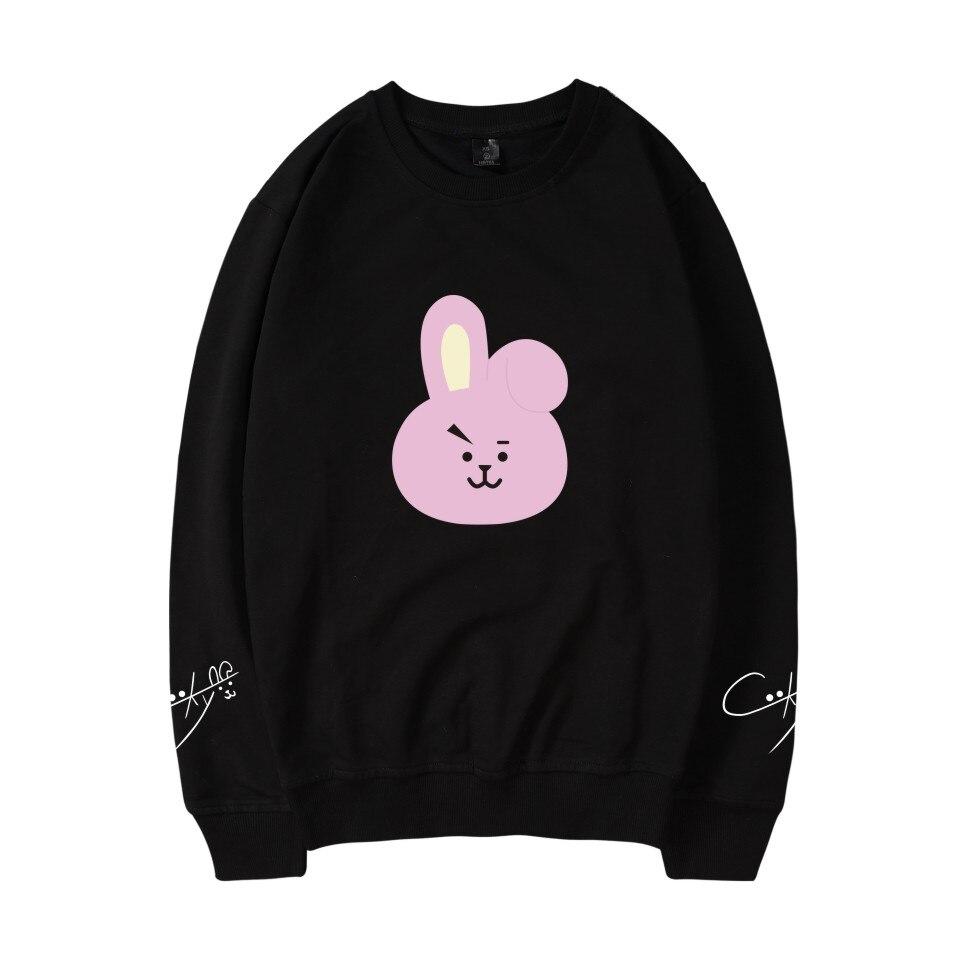 SMZY BTS K-pop Capless Hoodies Vrouwen Casual Korea Bangtan Hip Hop Fans Hoodies Women Cotton Winter Fashion Kpop Idol Clother