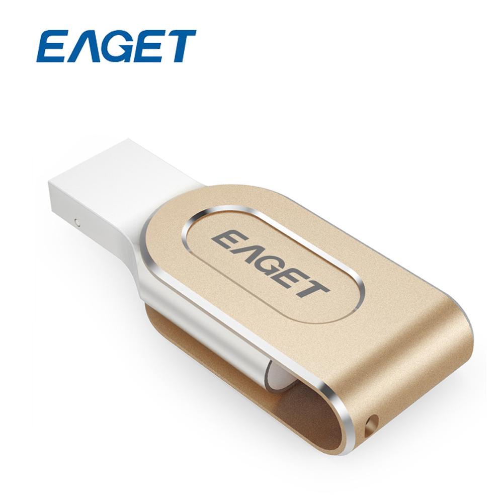 Prix pour EAGET I80 Pour La Foudre pour USB 3.0 Lecteurs Flash 100% 32 GB capacité D'expansion Pour iPhone 7 6/iPad/iPod Pen Drive 32 gb Pour PC/MAC