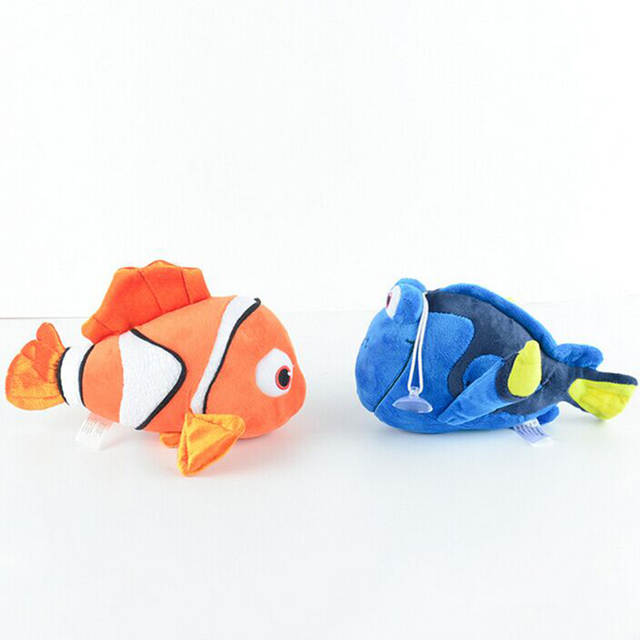 eae00fbe180 2018 Cartoon Finding Nemo Plush Kawaii Finding Dory Plush Toys Clown Fish  Stuffed Animal Doll Best