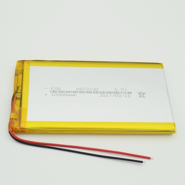 8573130 3,7 V 10000 mAh Lithium-Polymer LiPo 3,7 v 10ah Akku 2a Für energienbank pad dvd GPS PSP tablet pc laptop