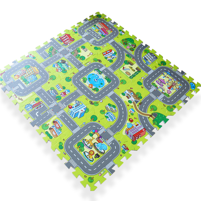 Large Rugs Kids Foam Children Baby Play Mat Board Pad Pieces Doormat Child Floor
