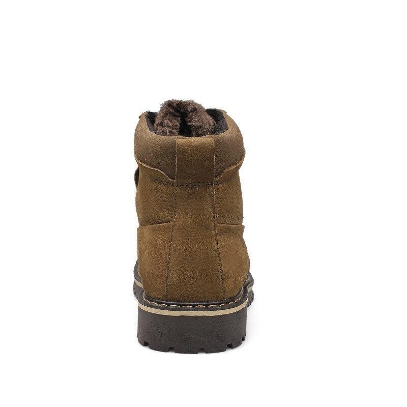 Męskie buty zimowe duży rozmiar 37 50 oryginalne skórzane buty luksusowe ciepłe pluszowe trzewiki jakości mężczyźni buty w stylu casual 99188 M w Podstawowe buty od Buty na  Grupa 3