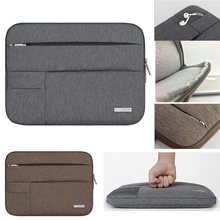 Nylon 13 15 15.4 15.6 Notebook Laptop Sleeve Bag Case For Xiaomi mi 13.3 Acer Dell HP Asus Lenovo Macbook Pro Air top nylon laptop sleeve shoulder bag case for xiaomi asus dell hp acer lenovo macbook air pro 11 12 13 14 15 4 15 6 surface pro