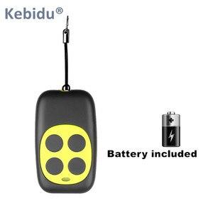 Image 3 - KEBIDU bezprzewodowy 433.92Mhz kod zdalnego sterowania klonowanie 4 przycisk dla bramy garaż drzwi Auto klucz powielacz otwieracz do butelek