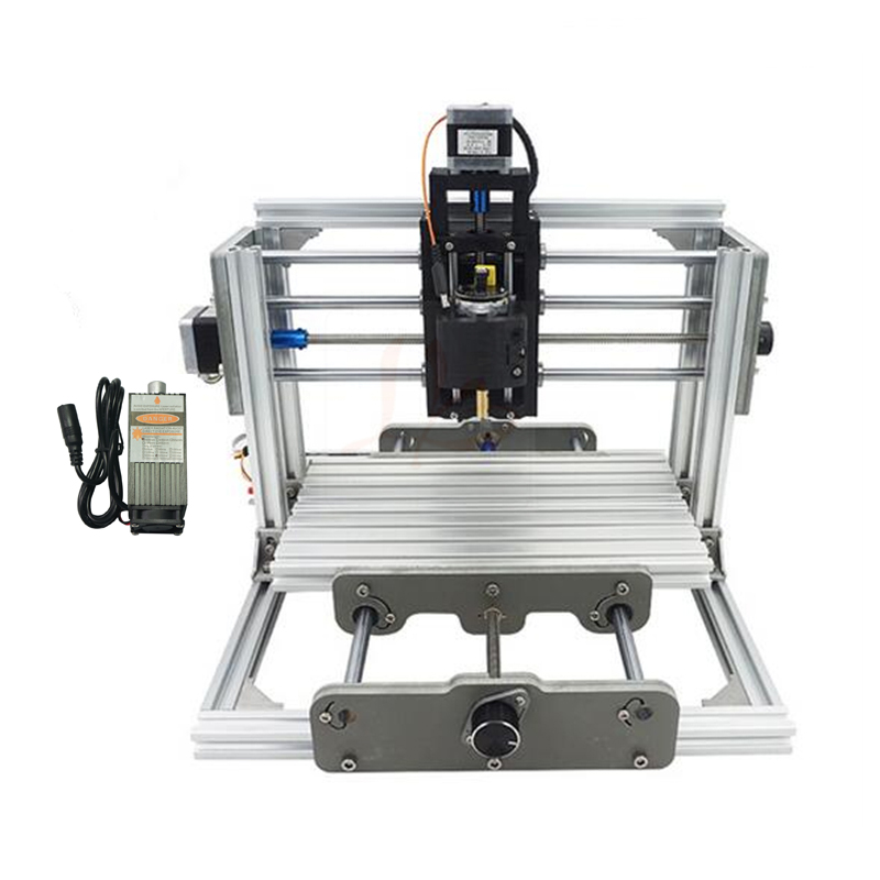 Disassembled pack mini CNC 2417 + 500mw laser CNC engraving machine Pcb Milling Machine Wood Carving machine diy mini cnc router cnc router mini engraving machine diy mini 4axis wood router pcb milling machine