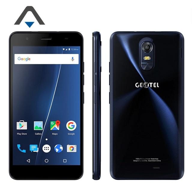 "Original Geotel Note Mobile Phone MTK6737 Quad Core 3GB RAM 16GB ROM 5.5"" HD 8MP+13MP Camera 4G FDD-LTE Android Smartphone"