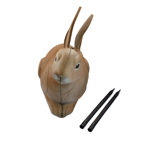 US $79 99 10% OFF|1X Archery 3D Target Rabbit XPE High Density Self Healing  Foam Animal Shooting Archery Bow Free Shipping-in Bow & Arrow from Sports